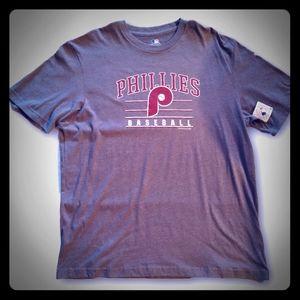 Philadelphia Phillies Stitched Poly Tee Shirt